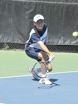 Central Valley Christian's Bailey Gong is the 2016 All-Tulare County Boys Tennis Player of the Year.