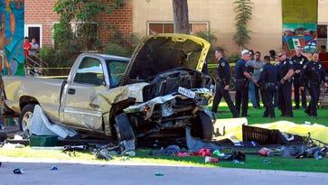 Navy man arrested in 'horrific' San Diego crash