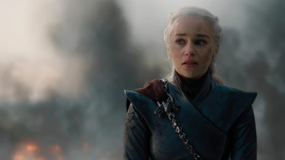 It's not just us who will miss Daenerys: Emilia Clarke is pretty choked up, too.