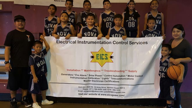The 2016 Thanksgiving HoopFest tournament presented by Bank of Guam and Calvo Fisher Jacob, LLP continues at the Tamuning Gym. The Day of Champions is on Sunday starting at 11 a.m. Pictured is 12U division team NOVA.