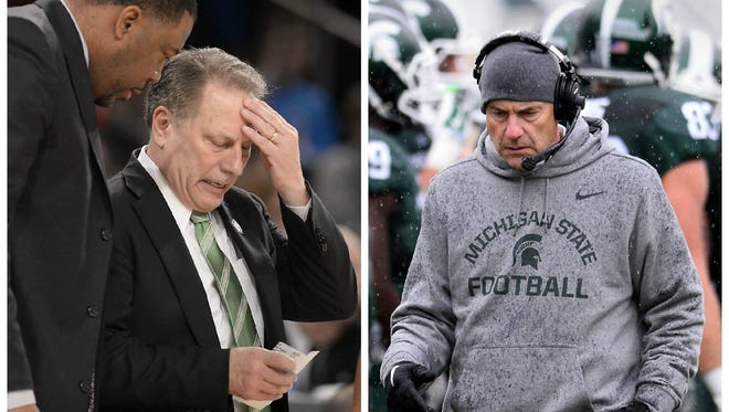 Tom Izzo completely understands Mark Dantonio's plight with injuries, and how sometimes a coach can lose control of what could have been a special season. What happened to Izzo two years ago is happening to Dantonio now.
