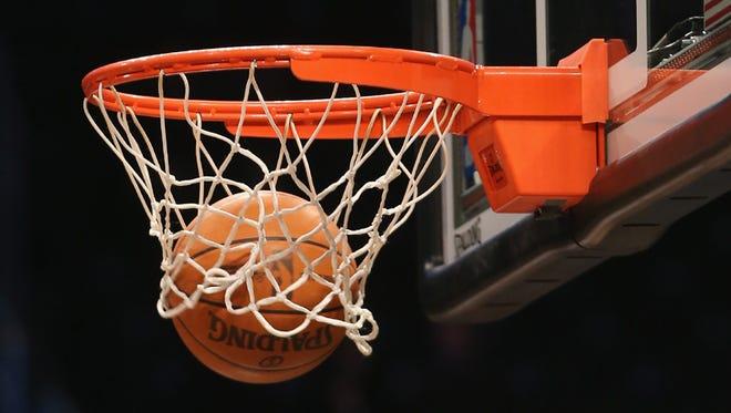 Monday's prep basketball games.