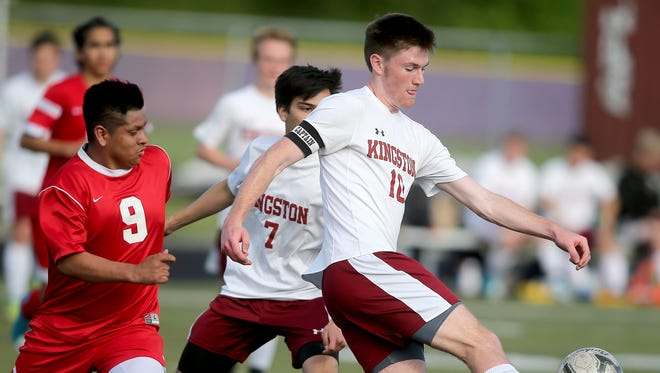 Kingston soccer player Brady Vernik earned All-Olympic League 2A MVP honors this week.