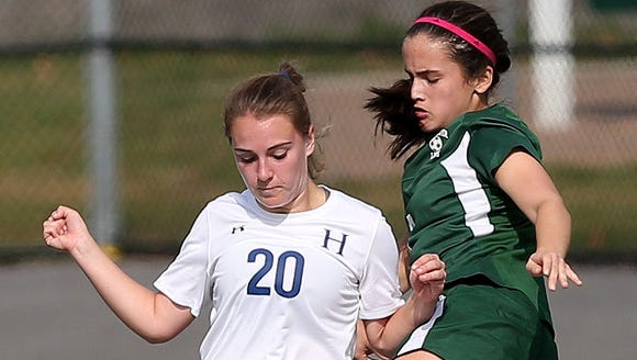 Haldane defeated Schechter 3-0 in the girls soccer