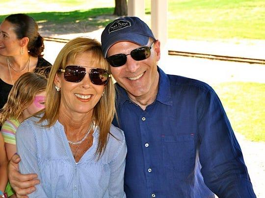 Greg Eveloff and his wife, Mikki