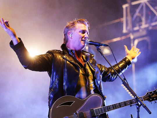 Josh Homme of Queens of The Stone Age performs during