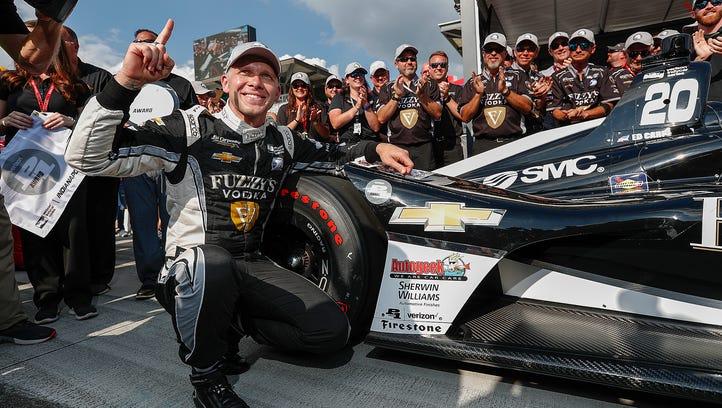 Ed Carpenter Racing IndyCar driver Ed Carpenter (20)