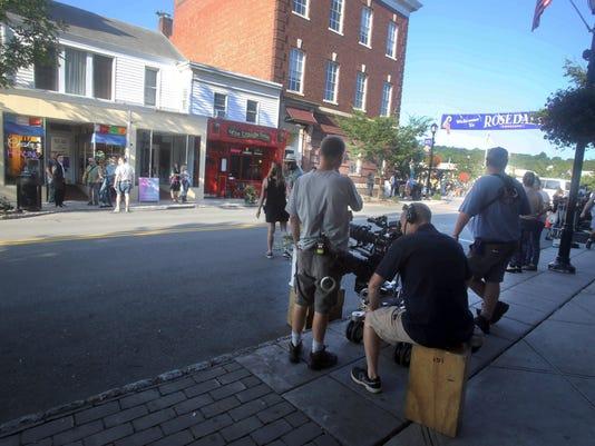1 Sneaky Pete film shoot