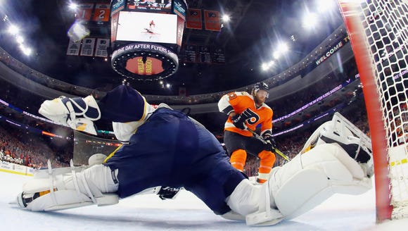 Last time the Predators came to town the Flyers took
