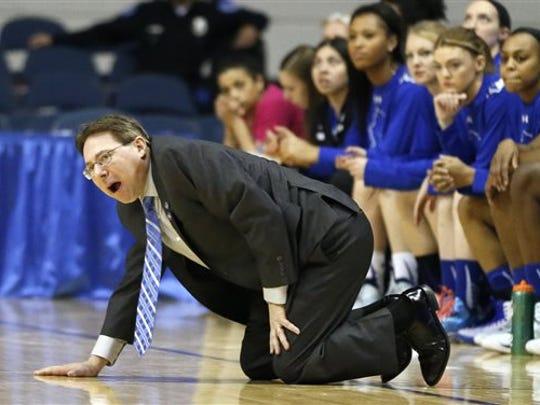 Seton Hall coach Tony Bozzella