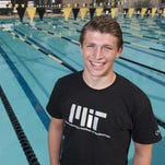 Golden West senior Hayden Niederreiter will be attending Massachusetts Institute of Technology next year. Photo taken on Tuesday, April 12, 2016. He is on the swim team and played goalie in water polo.