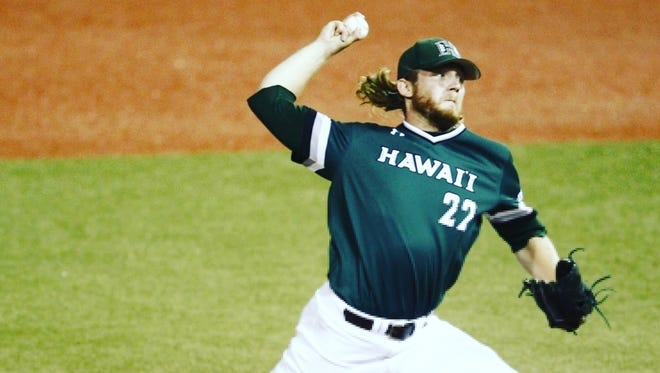 Former Westlake High player Casey Ryan was one of the top relief pitchers for the University of Hawaii this past season. He was drafted by the Chicago Cubs in the 2017 MLB First Year Player Draft.