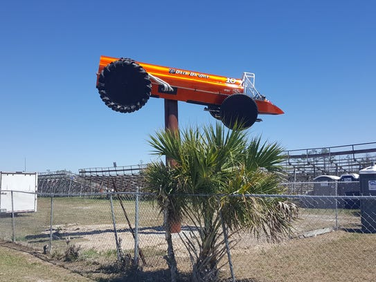 The former pro-modified swamp buggy of retired driver