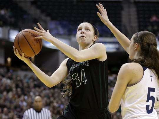 Rachel McLimore, who transferred to Zionsville this