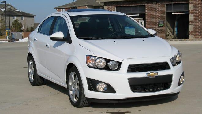 2014 Chevrolet Sonic Turbo sedan