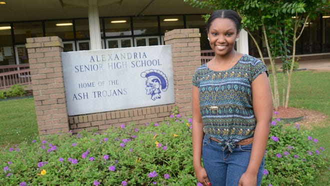 Alexandria Senior High School student Chelsea Clark attended school every day from kindergarten through 12th grade.