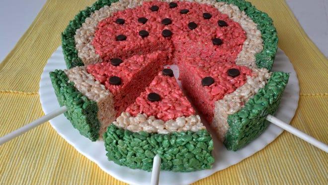 Rice Krispies Watermelon