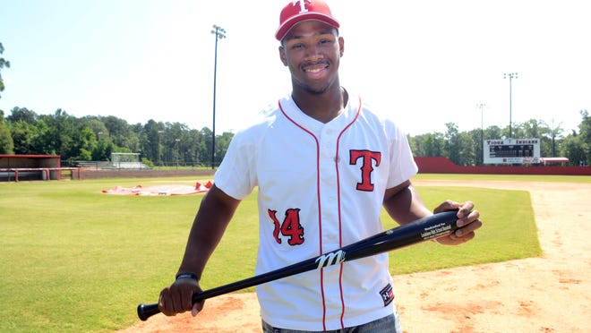 Tioga junior center fielder Tremaine Spears is the MVP of The Town Talk's All-Cenla Baseball Team. The UL Lafayette commitment led the Indians to the Class 4A semifinals, batting .445 with seven home runs and 42 RBI.