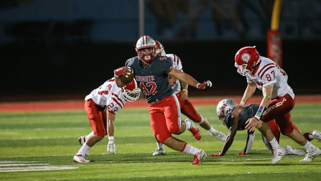 A Catholic Memorial School football player has been named to the Sports Illustrated All-American Watch List. Owen McGowan, a Boston College commit from Canton, received the distinction from Sports Illustrated when the magazine unveiled its state-by-state list of candidates on July 15.