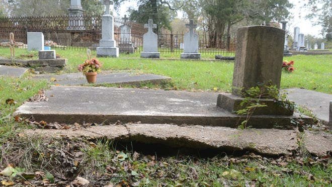 A group of volunteers are attempting to clean up, restore and preserve historic Rapides Cemetery in Pineville.