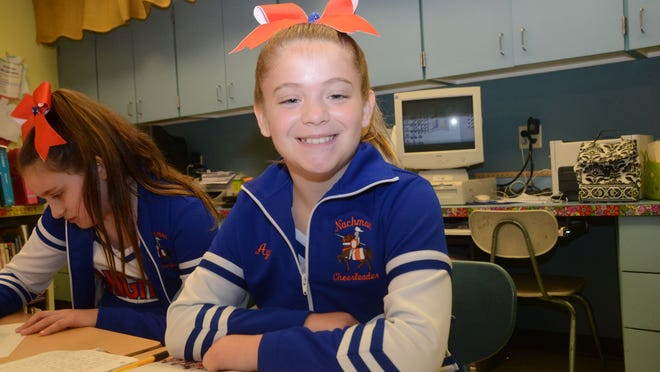 J.B. Nachman Elementary School fifth-grader Ayden Thomas is the Rapides Parish elementary Student of the Year. She cheers for her school and spends more than 10 hours a week practicing gymnastics, preparing for competitions.