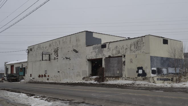 The former Magic City Ice building at 310 Front St. is slated for demolition in April.