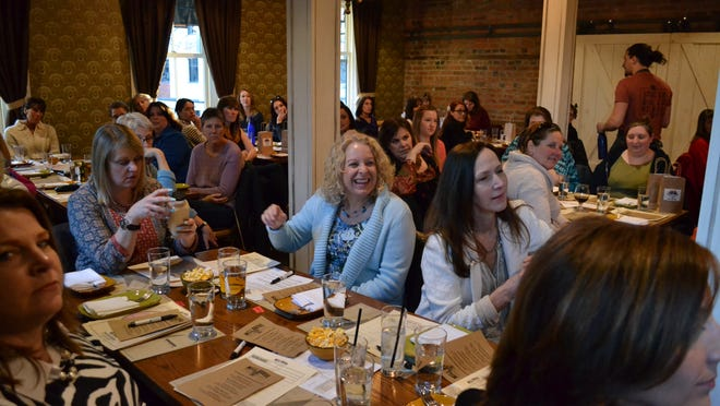 """Barley's Angels Hudson Valley sold out its first event, """"Local Craft Beer: 101,"""" at Mill House Brewing Company in Poughkeepsie."""
