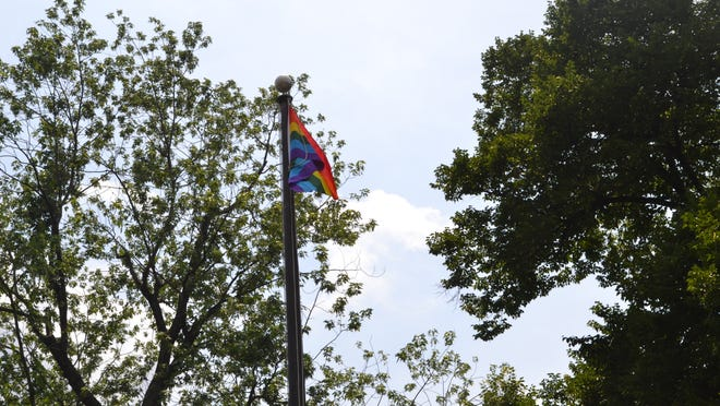 A rainbow flag was raised over Yonkers City Hall in June as a show of support for the gay, lesbian, transgender and bisexual community.