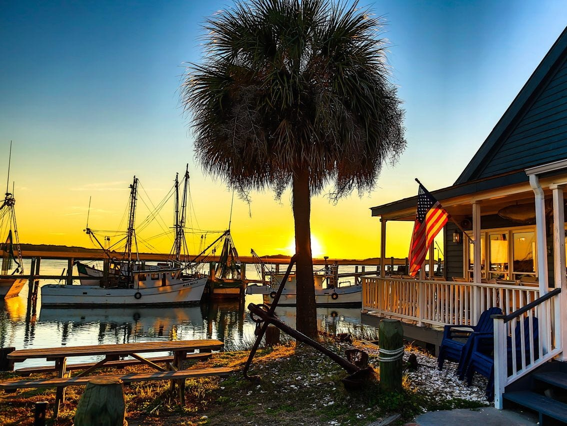 Is beaufort s c america 39 s happiest seaside town for Beaufort sc architects