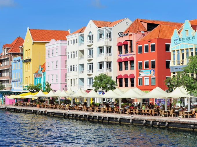 The Southern Caribbean is a great place to travel to if you are interested in colonial architecture, such as that of these Curacao restaurants.