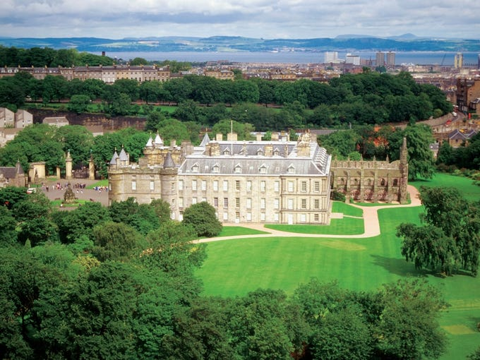 History lovers who aren't afraid of a little rain will love a cruise to the British Isles, which includes visits to such places as Edinburgh Castle in Edinburgh, Scotland.