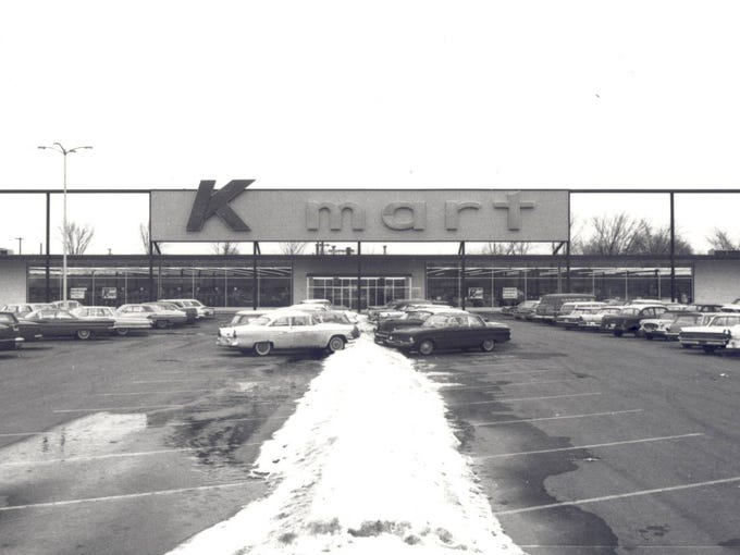 In 1962, Kmart, Target and Walmart all opened their very first stores. The three retailing giants helped redefine the industry each in their distinctive style of low-price discounting. S.S. Kresge Co. opened the first Kmart store on March 1, 1962, in Garden City, Mich.