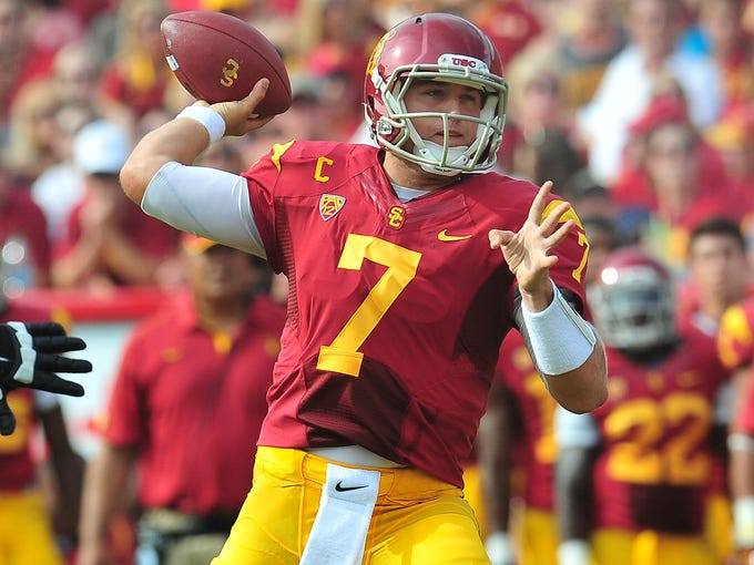 Matt Barkley's ineffectiveness: For whatever reason, he hasn't been great this year for Southern California, and the Heisman hype has died down.