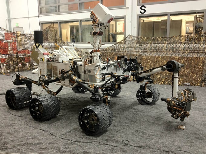 It's not just the big guys aiming for space any more. Small businesses are increasingly getting a chance at becoming a part of the exclusive community of NASA contractors. Several small businesses were involved in developing NASA's Curiosity Rover which landed on Mars this summer in early August.