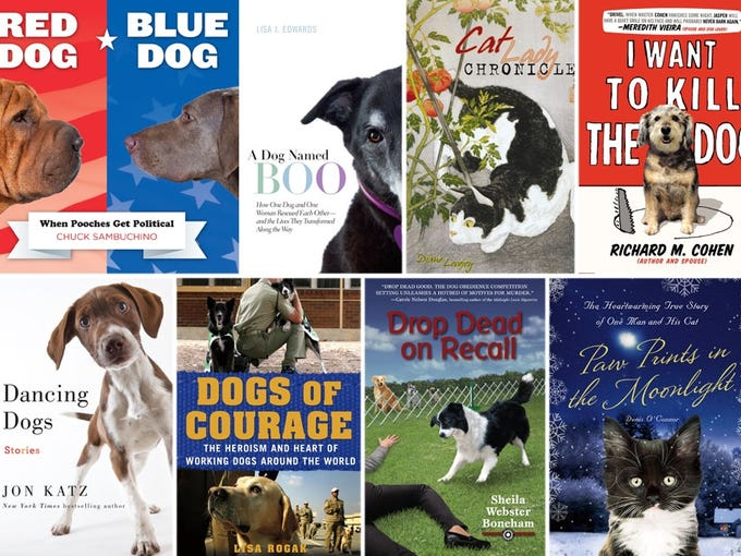 You name it and you'll find it in the flurry of pet books this fall - politics, fortune-telling and the time-honored theme that a pet comes along at just the right time. And believe it or not, one author confesses he isn't happy at all to be sharing a bed with the family dog.  USA TODAY's Craig Wilson takes a look.