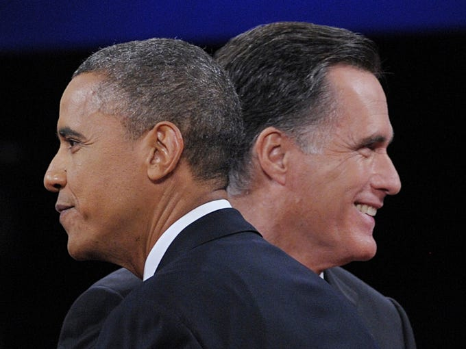 President Obama and Republican presidential candidate Mitt Romney conclude the third and final presidential debate of the 2012 election season -- just two weeks before voters head to the polls Nov. 6.