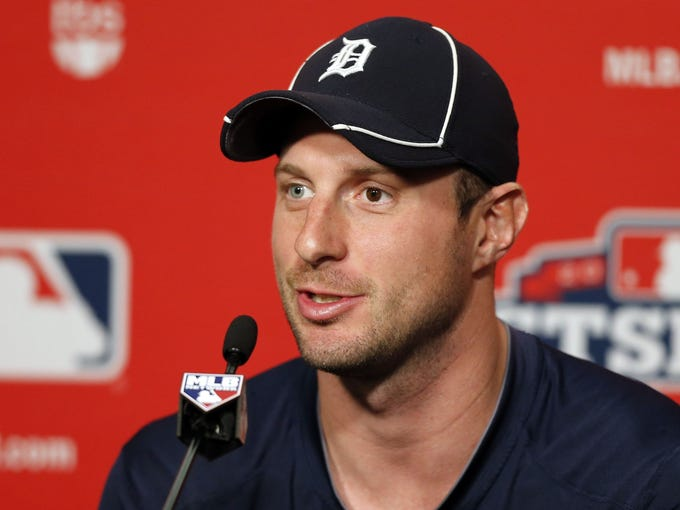 Remember the Tigers? They haven't played since last week as they await  their World Series date. A look at some fun facts  about the AL champions: RHP Max Scherzer. Scherzer's eyes are different colors - one is blue, the other red.