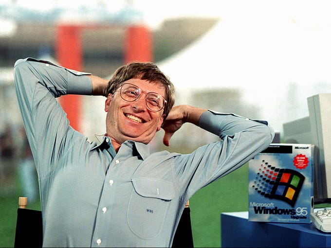 bill gates before microsoft essay Also sumner redstone of viacom said it before bill gates so google is not the  (yes, microsoft's bill gates) in an essay back in 1996 he said (article.