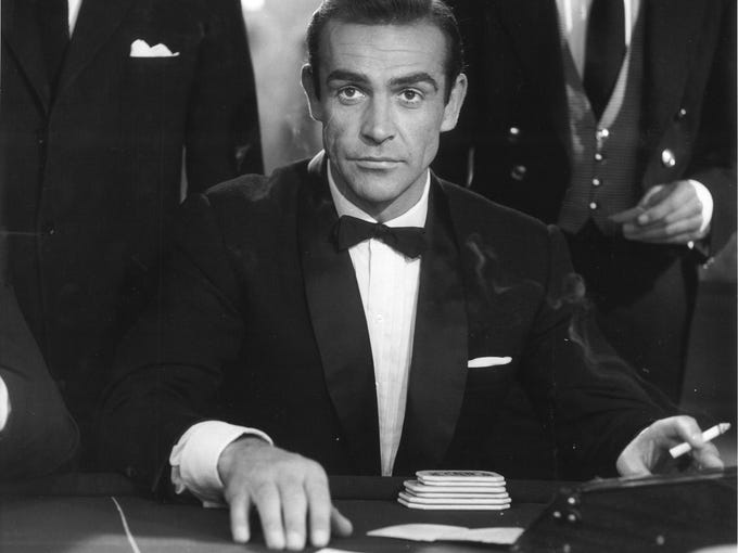 The first Bond film, <i>Dr. No</i>, released in 1962, featured Sean Connery in Jamaica.
