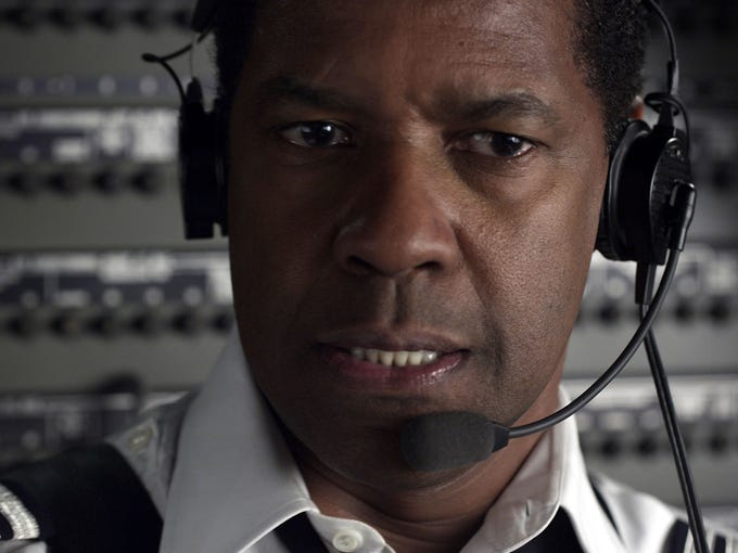 Denzel Washington has made a career out of playing everyday men thrust into heroic situations. In his latest film, 'Flight,' Washington portrays a pilot, Whip Whitaker, whose plane spirals out of control.