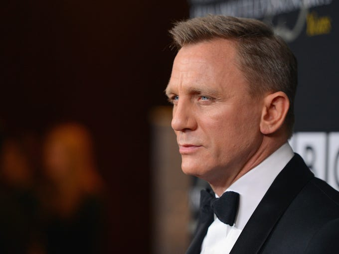 James Bond brought the heat at the  BAFTA Britannia Awards, held Nov. 7 at the Beverly Hilton hotel in Los Angeles. Hosted by Alan Cumming, the evening feted both Craig (on the cusp of his U.S. <i>Skyfall </i>release) and Daniel Day-Lewis, whose portrayal of Abraham Lincoln will hit select markets on Friday. The Britannia Awards will air on BBC America on Sunday at 8 p.m. ET.