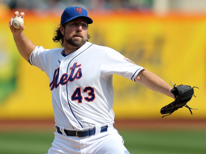 (22) RA Dickey: An unforgettable run for the erudite (and erstwhile) NYC knuckleballer.