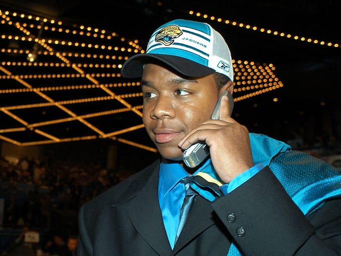 Byron Leftwich was drafted seventh overall by the Jacksonville Jaguars after a stellar collegiate career at Marshall. The hope was that he'd be Jacksonville's franchise quarterback for years to come.