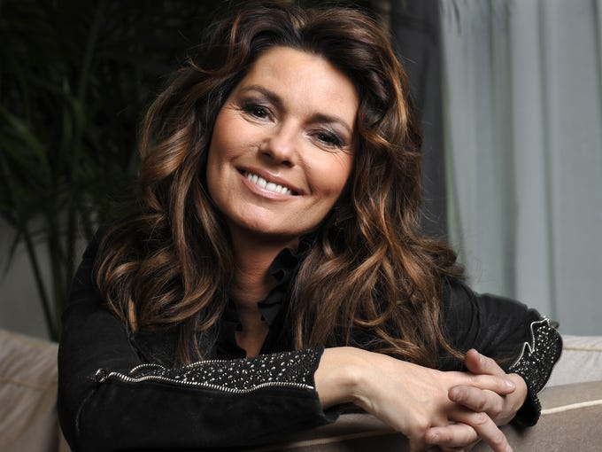 Country star Shania Twain is hitting the stage again, this time with a two-year residency at The Colosseum at Caesars Palace in Las Vegas beginning Dec. 1.