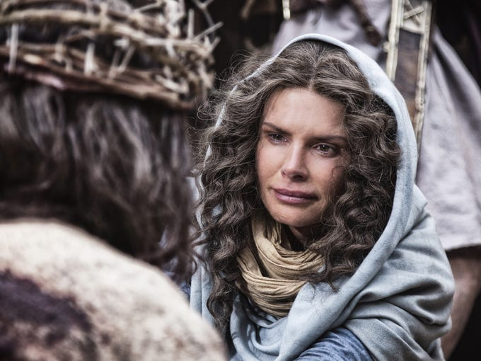 Roma Downey, who played Mary in History's 'The Bible,' will produce a follow-up project with Mark Burnett for NBC.