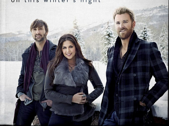 On 'This Winter's Night,' Lady Antebellum:  The country-pop trio takes some chances with their selections, covering Donny Hathaway's R&B standard 'This Christmas,' slowing down the Mariah Carey hit 'All I Want for Christmas Is You' and writing a new section for  'Silent Night.' The risks pay off: Each of those three is a standout, as is the title song, penned with 'I Run to You' co-writer Tom Douglas.
