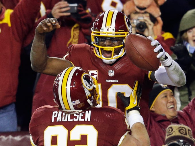 <p>Washington Redskins, 10-6, A: Despite a salary cap penalty and season-ending injuries