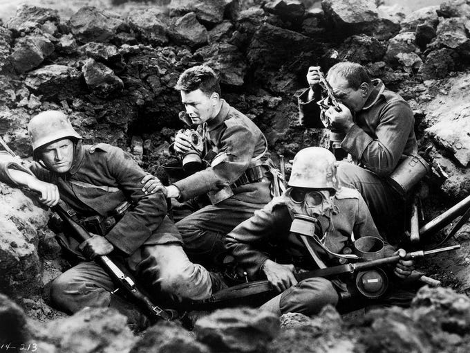 a comparison of all quiet on the western front by remarque and the movie based on it 1979 tv-film based on the book of the same title by erich maria remarque all quiet on the western front  all quiet on the western front.