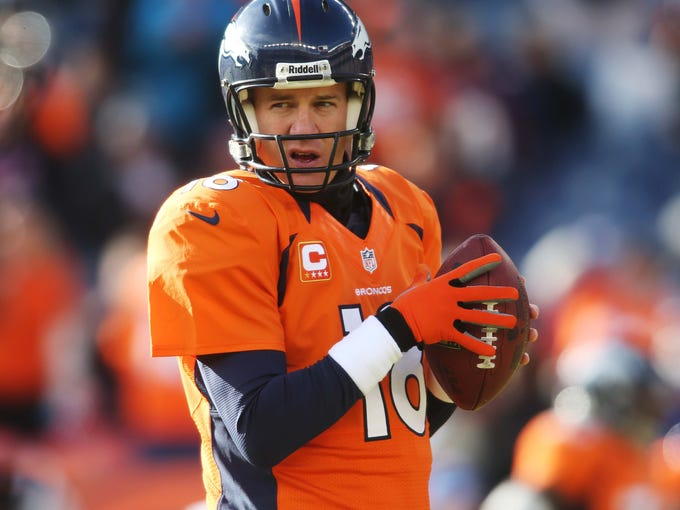 Peyton Manning S Career In Pictures