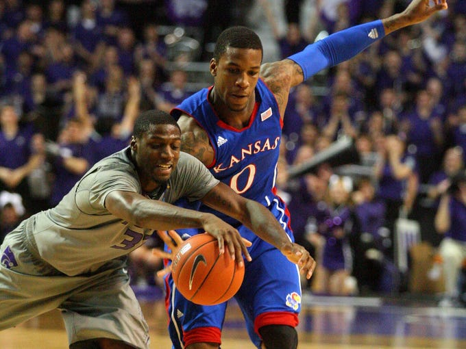 Big 12, Kansas at Kansas State, Jan. 22: The Jayhawks head to Manhattan to face their Sunflower State rivals. The Wildcats already have 11 wins in Bruce Weber's first season, despite entering the week being ranked 222nd in field goal percentage (42.0).